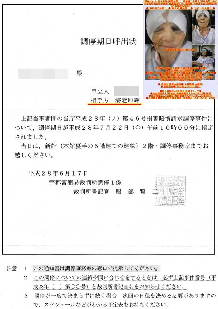 調停 海老原輝弁護士 新田裕子弁護士 澤田雄二弁護士 宇都宮中央法律事務所