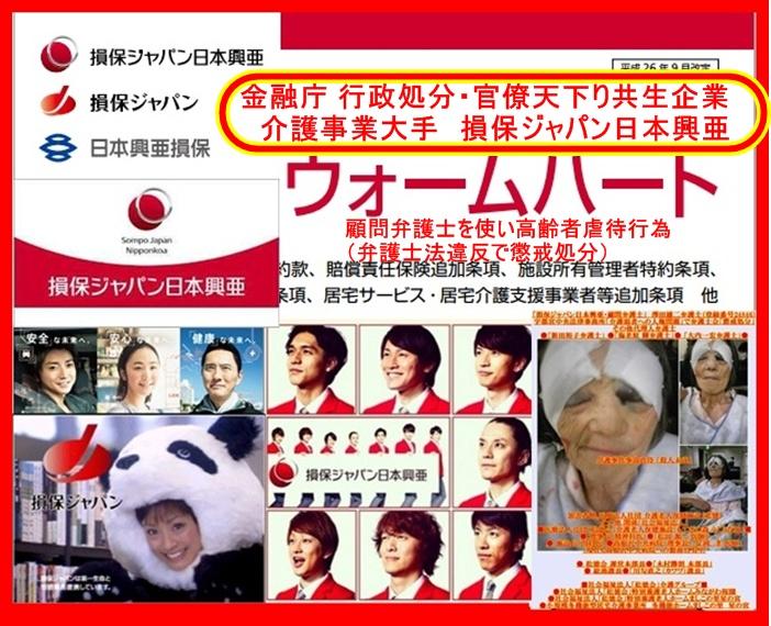 損保ジャパン日本興亜 介護被害1
