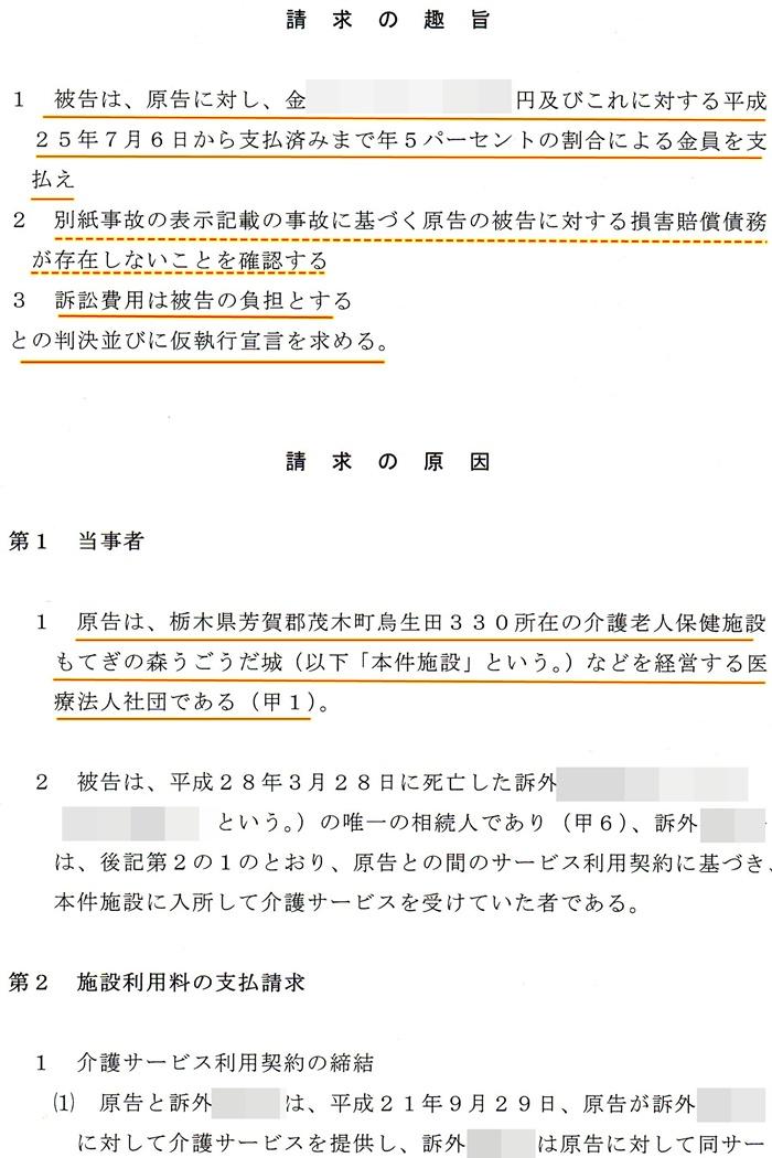 債務不存在確認訴訟2もてぎの森うごうだ城 澤田雄二 松田源一