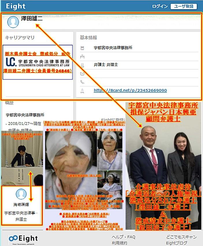 澤田雄二弁護士 海老原輝弁護士 新田裕子弁護士 宇都宮中央法律事務所