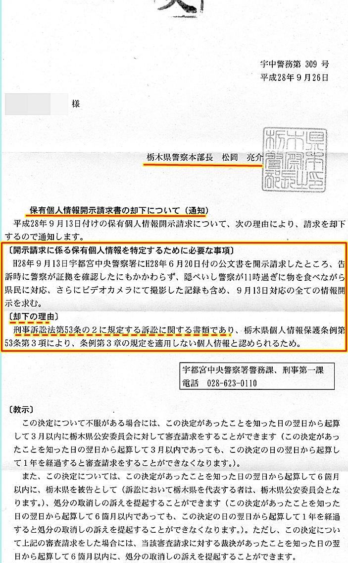 宇都宮中央警察署 盗撮 栃木県警 ビデオカメラ盗撮 下澤