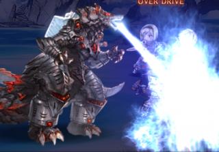 覇壊機獣 メカゾゴラ(火炎放射)