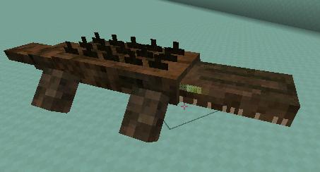 ReptileMod 巨大クロコダイル
