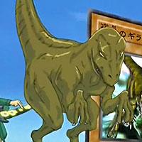 俊足のギラザウルス(DM160話)