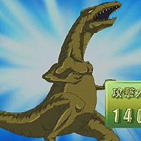 俊足のギラザウルス(GX55話)
