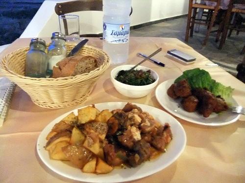 キモロス_「メルテミ」で夕食 (2)