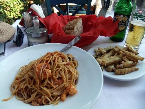 カラマタ_「アラグマ」で夕食 (4)
