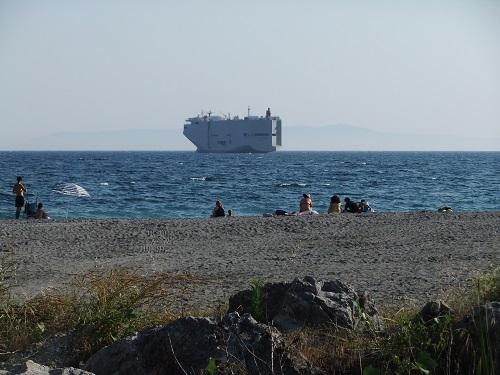 カラマタ_西側の海