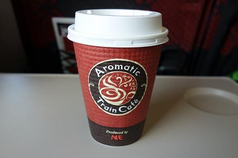 北陸新幹線コーヒー