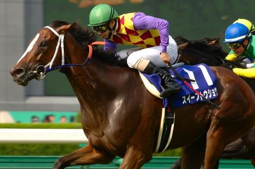 【競馬ネタ】牝馬なのに宝塚記念を勝ったスイープトウショウとかいう馬wwwwwwwwwwww