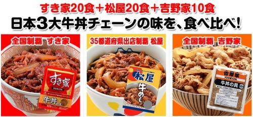 【競馬板】吉野家とすき家と松屋ってどれが牛丼美味いの?