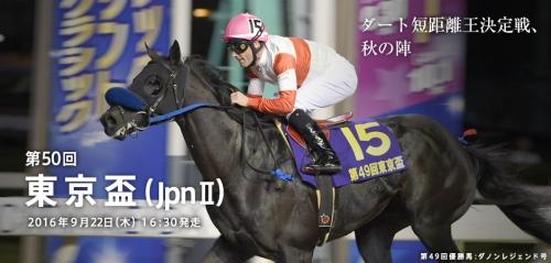 【競馬】第50回東京盃(JpnⅡ) 大井ダ1200m