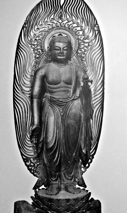 広隆寺・地蔵菩薩立像~埋木地蔵