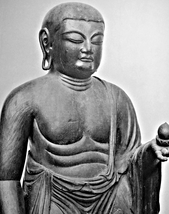 広隆寺・地蔵菩薩像~埋木地蔵