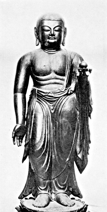 広隆寺・埋木地蔵像