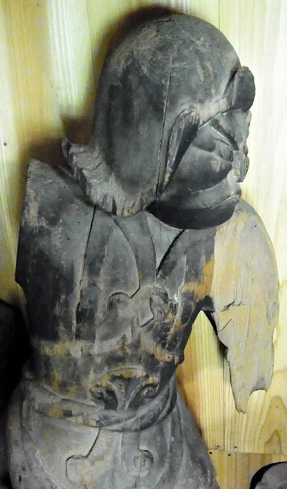 安楽寺・天部形立像
