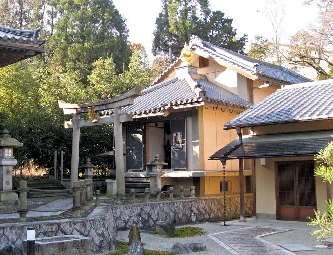 愛染院・聖天堂~収蔵庫