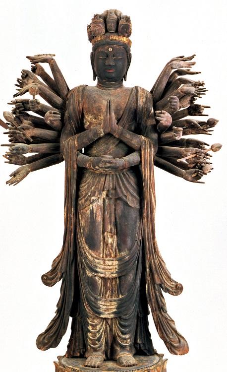 月輪寺・千手観音立像