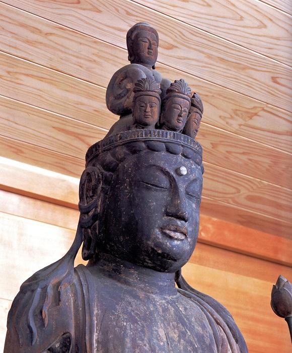 月輪寺・十一面観音立像