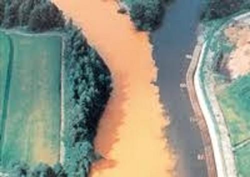赤川と北上川の合流地点1