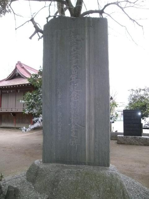 騎兵1旅団門柱 (1)