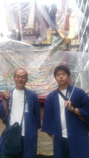 A16親子祇園祭り