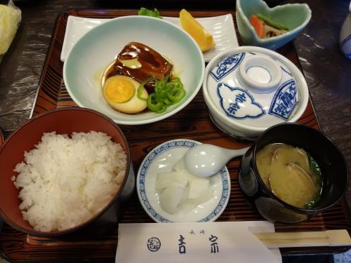 長崎 「吉宗」 角煮、茶わん蒸し