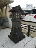 JR会津若松駅 地下道前の行灯 北