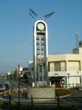 JR阿知須駅 カリヨン時計台