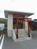 会津鉄道芦ノ牧温泉駅 会津鉄道神社