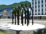 JR釜石駅 復興の鐘