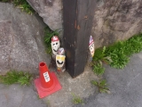 JR小海駅 小人の木像群5