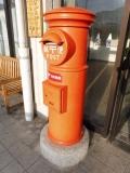JR小海駅 1号丸形郵便差出箱