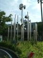 JR下曽根駅 下曽根駅南口土地区画整理事業竣工記念時計台