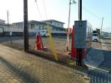 JR田尻駅 謎のポスト 全景