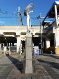 JR栃木駅 名称不明モニュメント