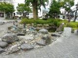 JR遠野駅 カッパの銅像