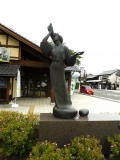 JR遠野駅 北風の舞