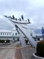 JR米沢駅 活力と創造と愛の21世紀都市・米沢をめざして