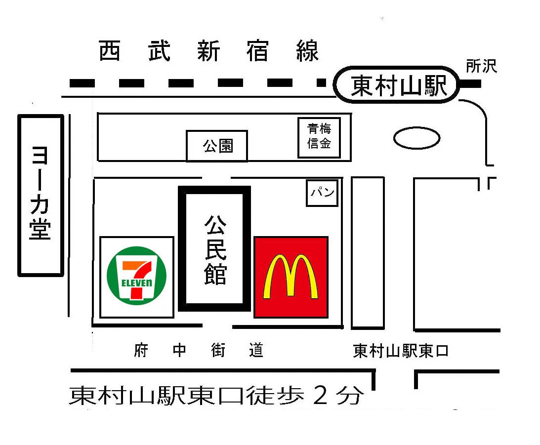 公民館地図