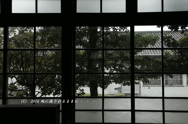 2016年7月17日撮影 滋賀・銀残しで撮る旧鎌掛小学校の風景1
