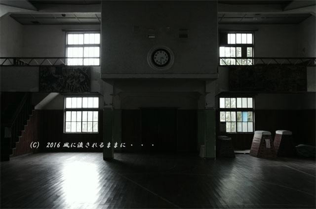 2016年7月17日撮影 滋賀・銀残しで撮る旧鎌掛小学校の風景24