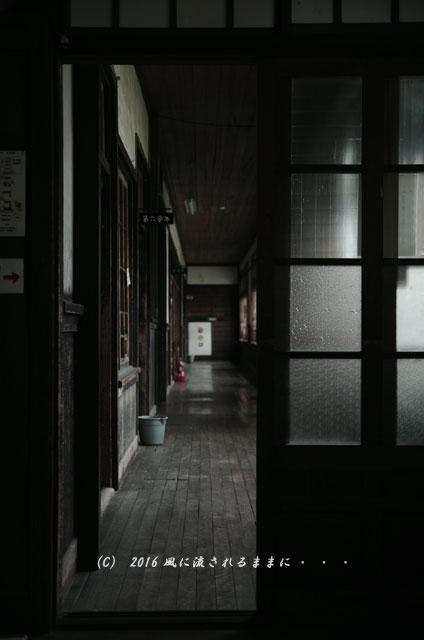 2016年7月17日撮影 滋賀・銀残しで撮る旧鎌掛小学校の風景7
