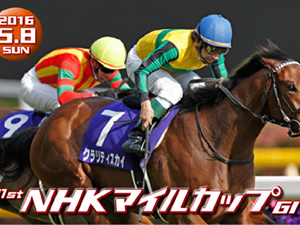 【NHKマイルカップ 枠順決定】2枠4番メジャーエンブレム、3枠5番ロードクエスト