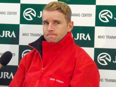 つい最近まで来日していたTベリー騎手、日本での苦悩を語