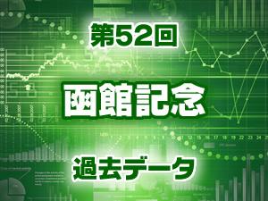 2016年 函館記念 過去のデータ