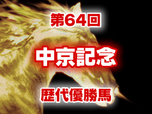 2016年 中京記念 歴代の結果と配当
