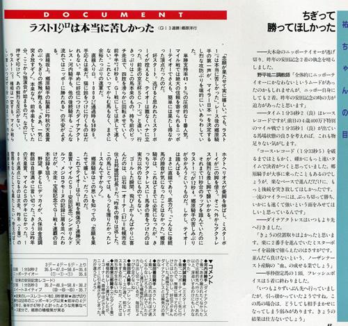 ニッポーテイオー 安田記念2