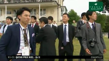 ニエル賞 マカヒキ 関係者