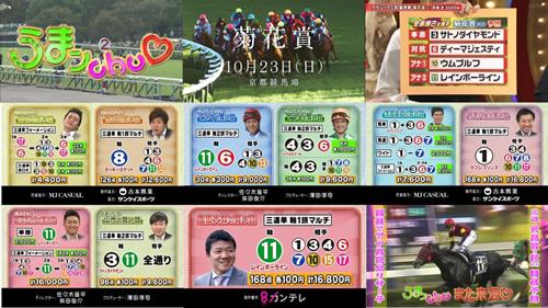 2016年 菊花賞 うまんちゅ 7